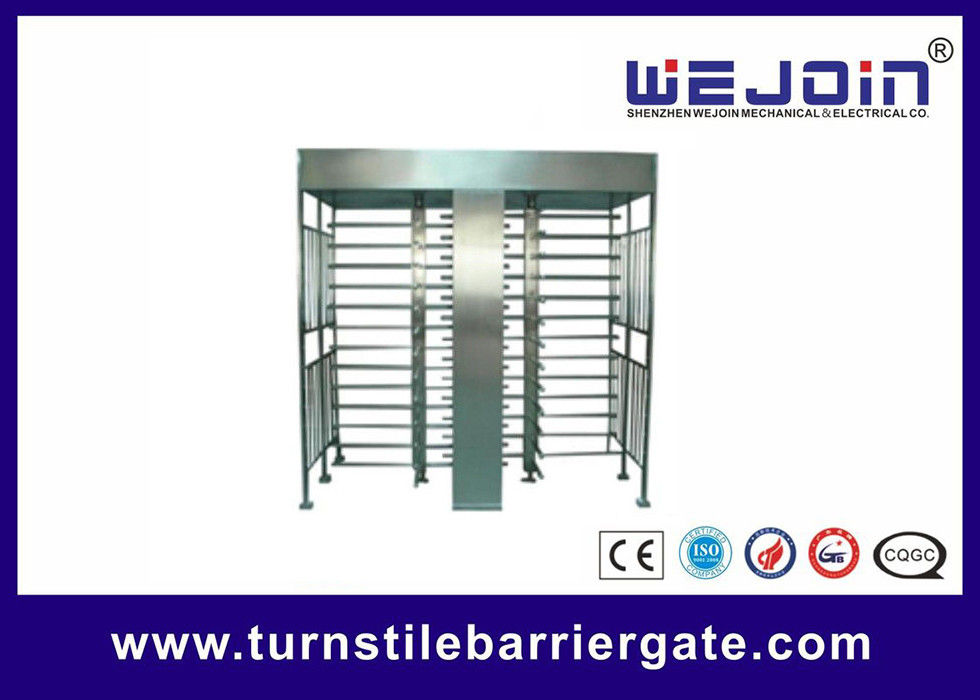 Stainless Steel Full Height Access Control Turnstile Gate CE Approved προμηθευτής